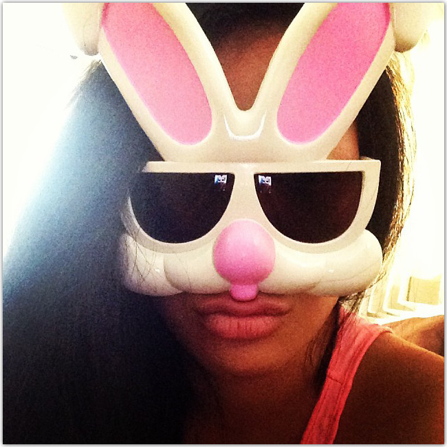 lunettes en forme de lapin