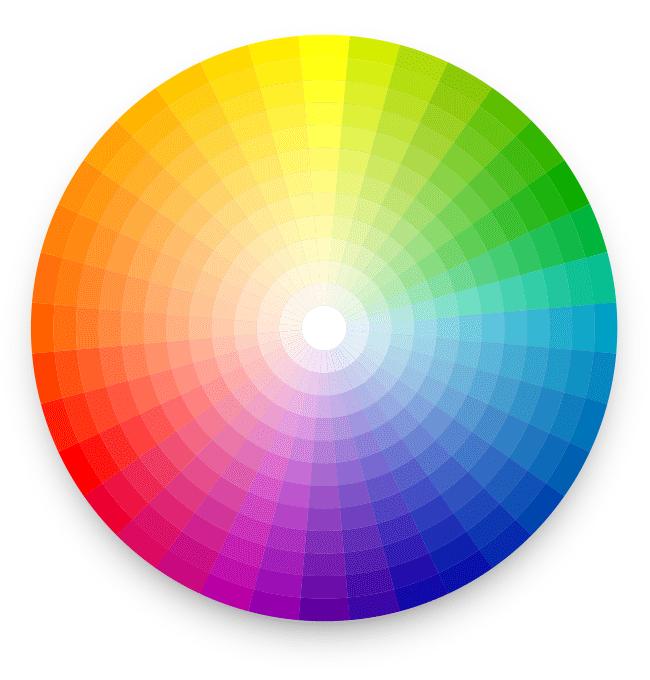 La th orie des couleurs appliqu e votre site internet for Cercle de couleur chromatique