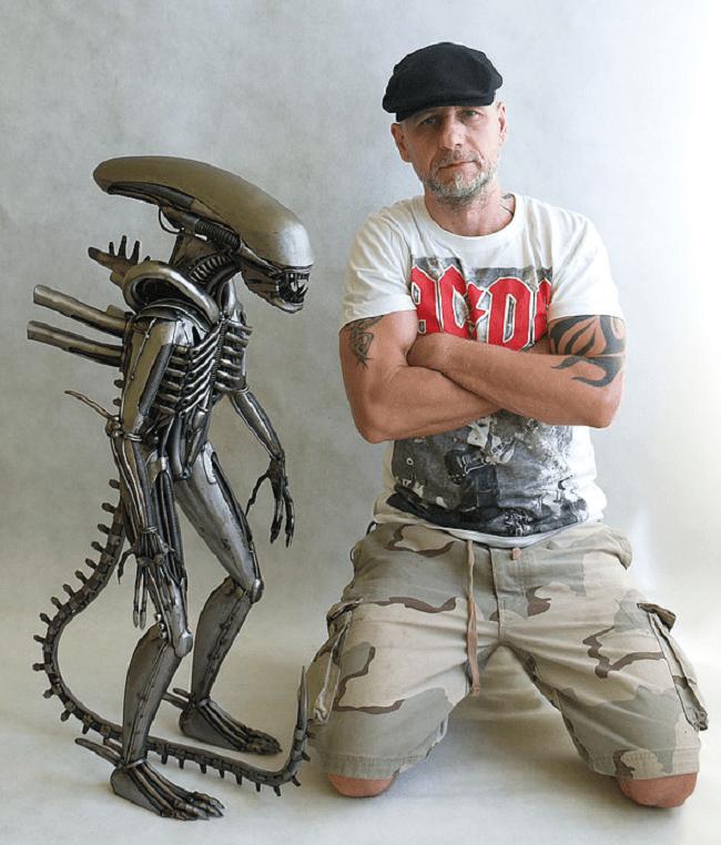Site internet Wix de l'artiste Tomas Vitanovske