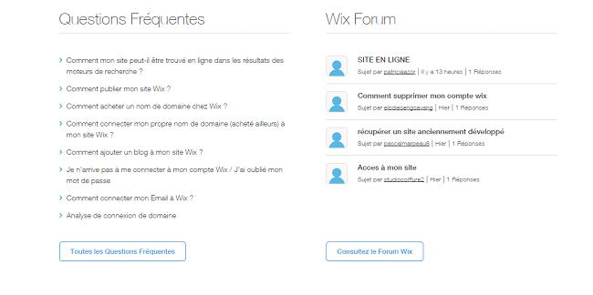 Forum Wix