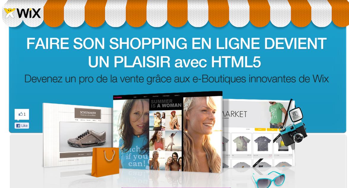 Découvrez le nouvel e-Commerce HTML5