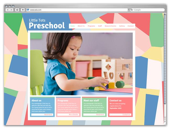 Modèle Preschool