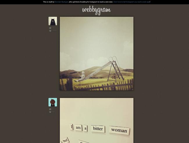 webbygram