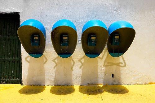 Des cabines téléphoniques originales