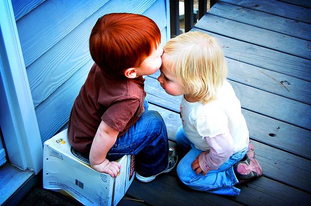 Premier baiser Par Britt E, Flick