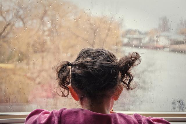 Première pluie Par Yan. C, Flickr