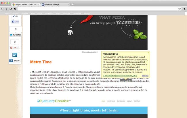Les extension Chrome à connaître