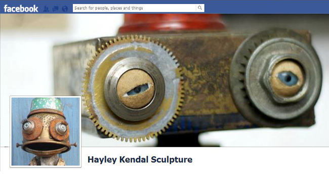 Hayley Kendal Sculpture Facebook page