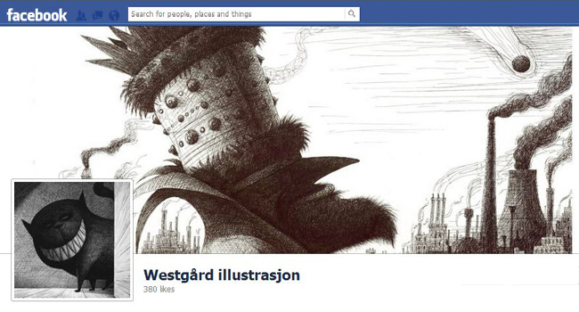 Westgrad Illustrations Facebook page