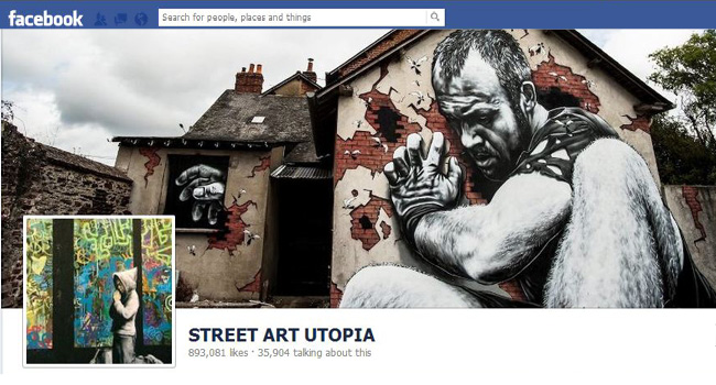 Street Art Utopia Facebook page