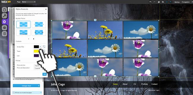 Créez Une Page d'Accueil Dynamique Avec Des Galeries Animées