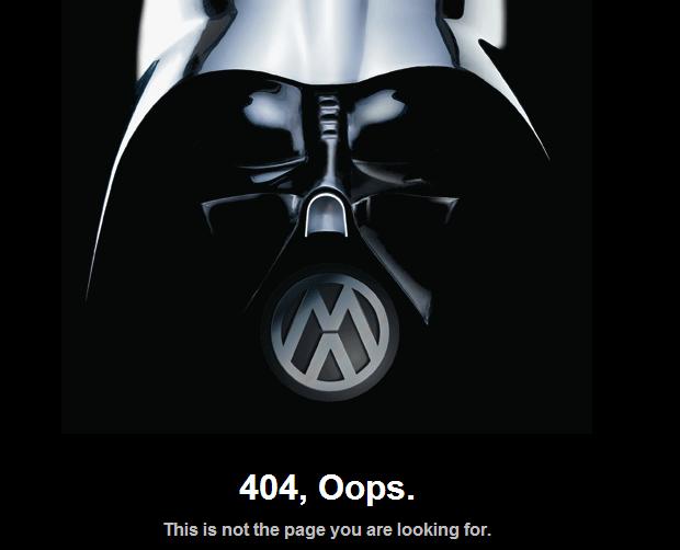 les pages d'erreur 404 les plus originales