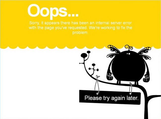 les pages 404 les plus orignales