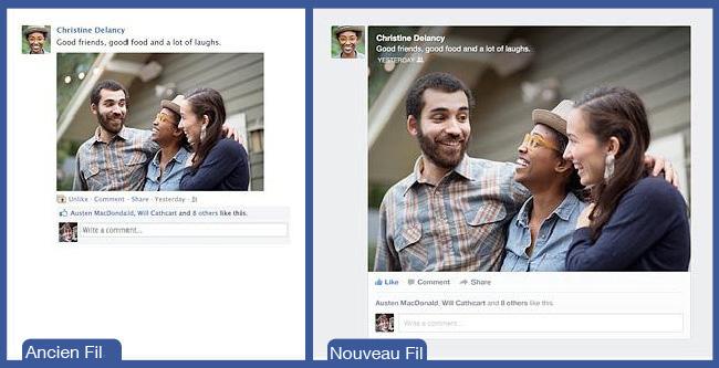 Découvrez Le Nouveau Fil d'Actualités de Facebook