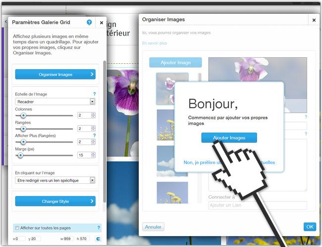 Tutoriel pour: créer un menu avec une image découpée en mosaïque