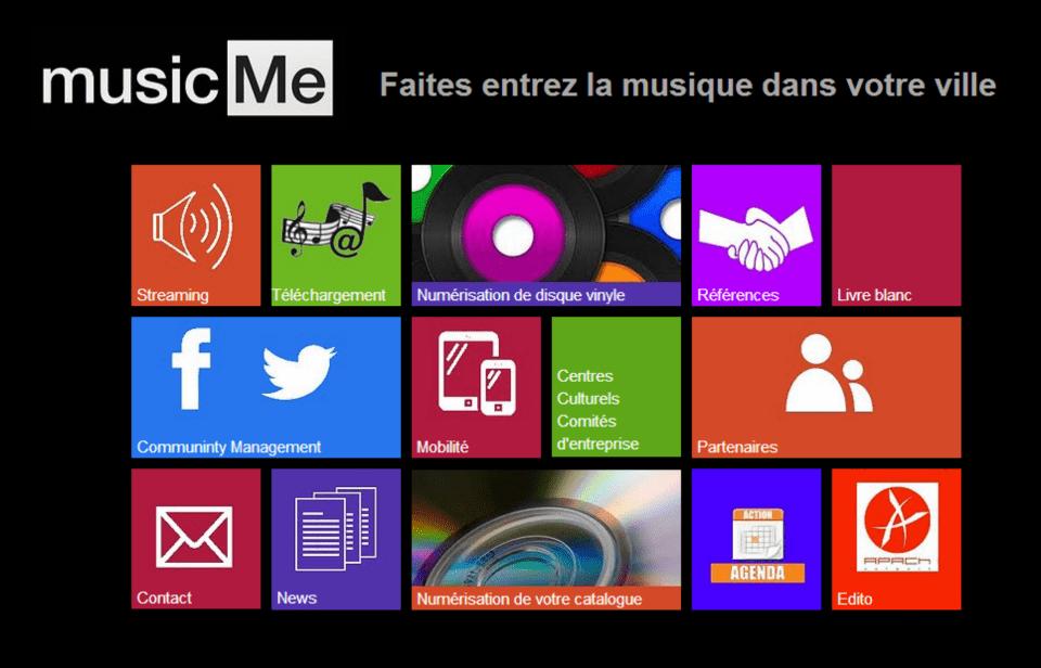 Site de Musique.Me Pro