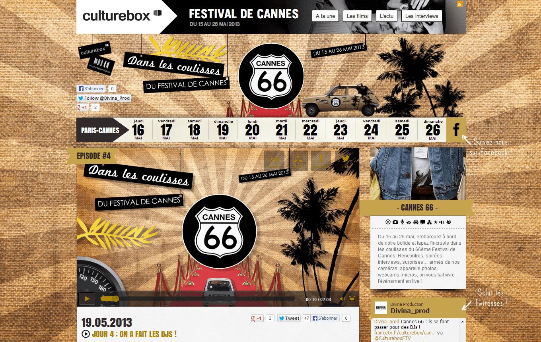CANNES 66 - les coulisses du festival de Cannes