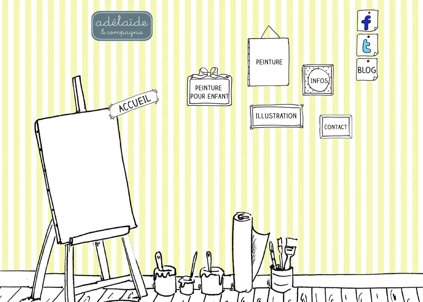 site d'adélïde & compgnie