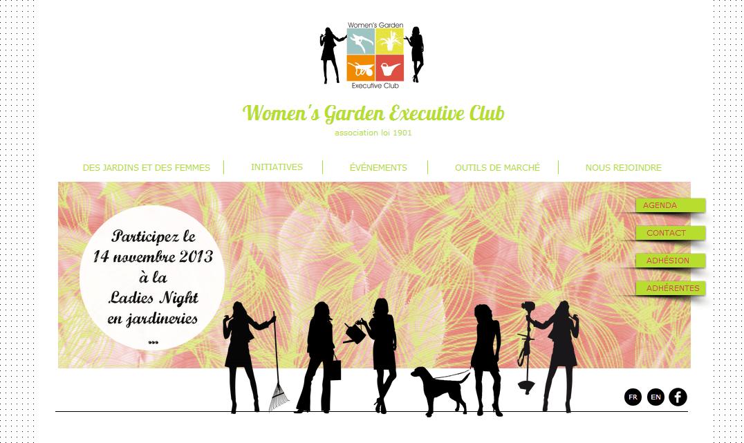 site Womens Garden Executive Club