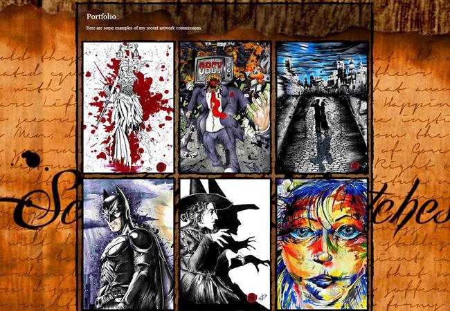Des portfolios d'art qui rayonnent sur la Toile
