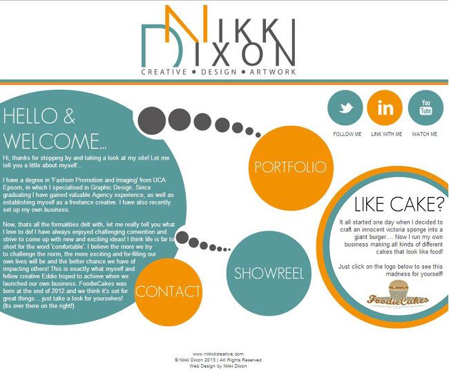 site de Nikki Dixon