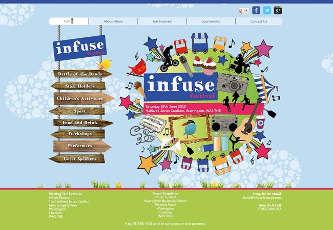 site de Infuse festival