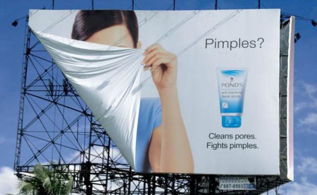 Pub pour le nettoyant visage Pimples