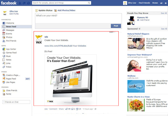 Le guide de la pub Facebook