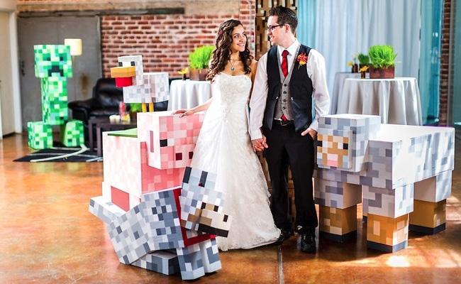 Des mariages Geeks fantastiques