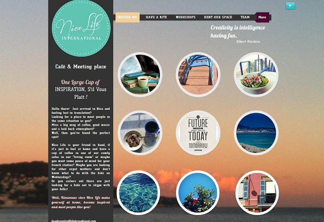 Le tour de France des sites Wix