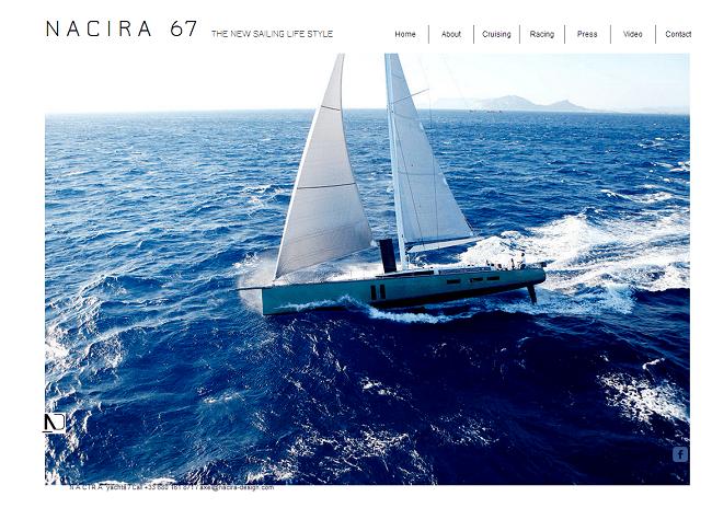 NACIRA67 high standards fast sailing yacht