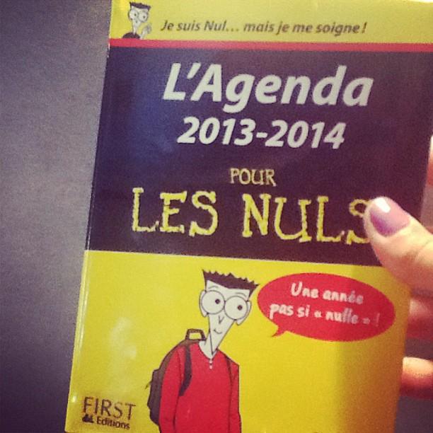 L'agenda 2013-2014 pour les nuls