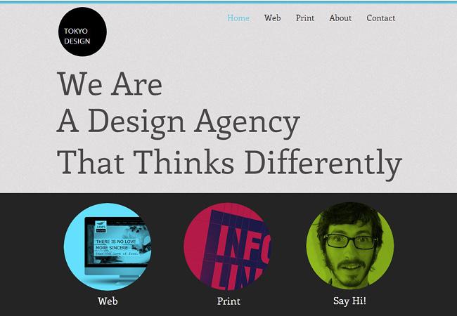 Template agence de design
