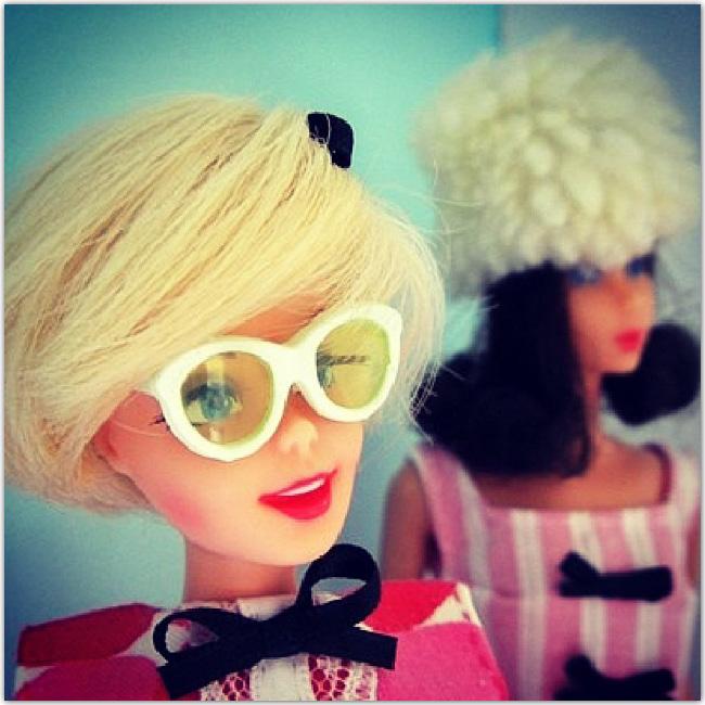 Poupée Barbie Habillée vintage