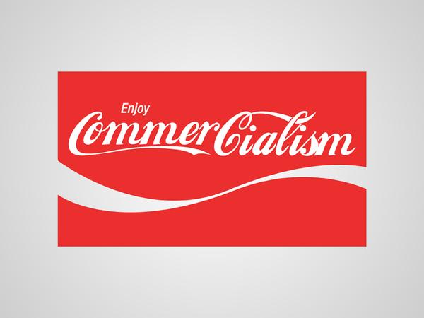 Parodie du logo Coca Cola