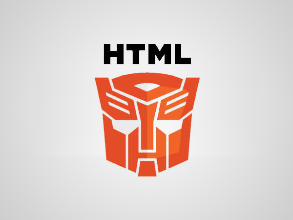 Parodie du logo HTML5