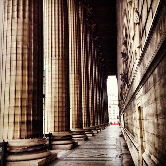 Architecture parisienne la madeleine