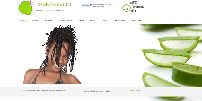Site wix: Newlocks Institut
