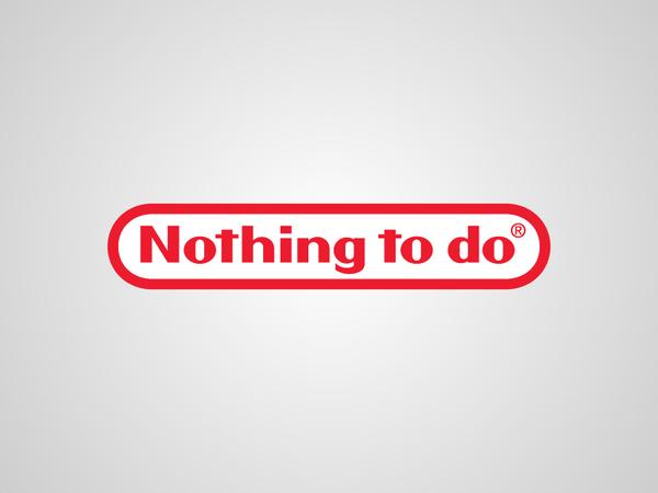 Parodie du logo Nintendo