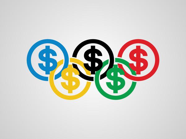 Parodie du logo des jeux olympiques