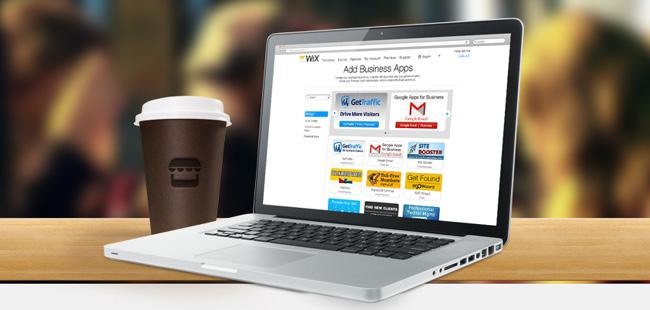 Nouveauté Wix : Les Apps Business