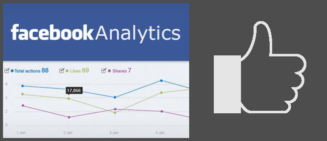 Application Facebook analytics