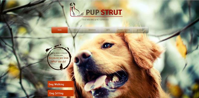 Site: Pup Strut