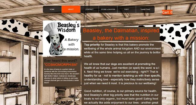 site Beasley's Bakery Online
