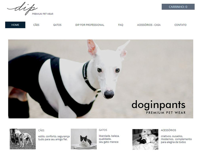 Site: Dog in Pants