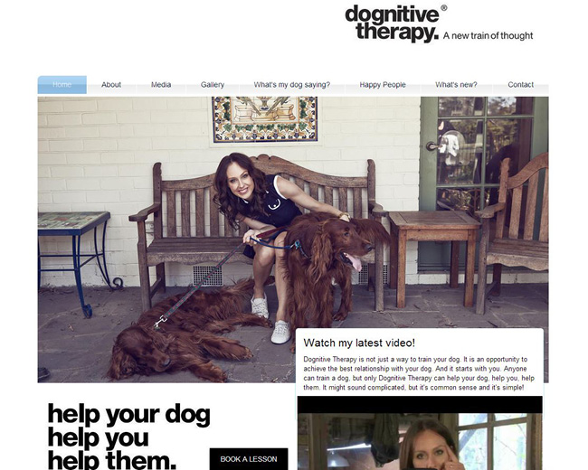Site: Dognitive Therapy