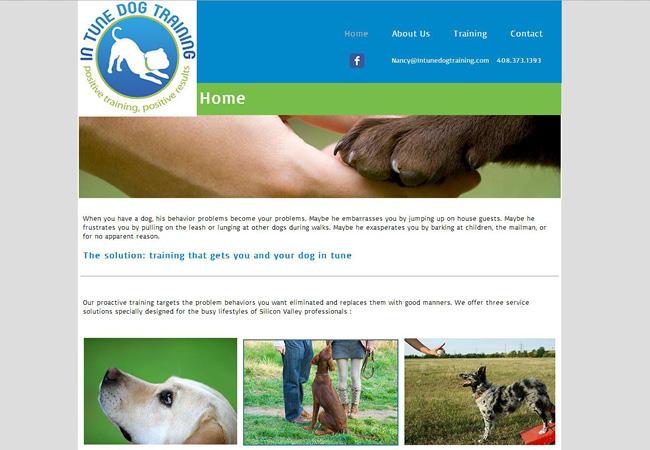 Site: In Tune Dog Training