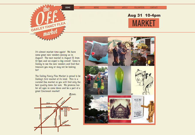 Site Wix : Oakley Fancy Flea