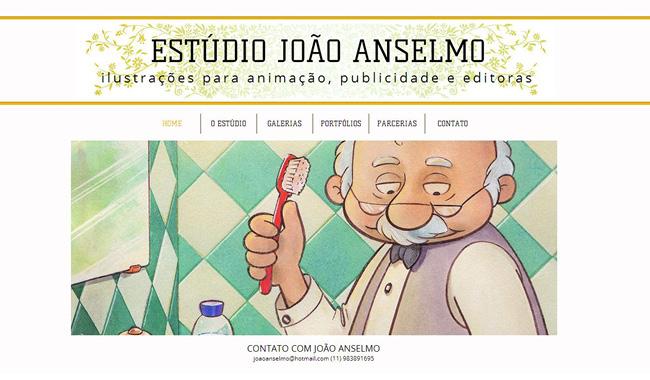 Site wix de Joao Anselmo