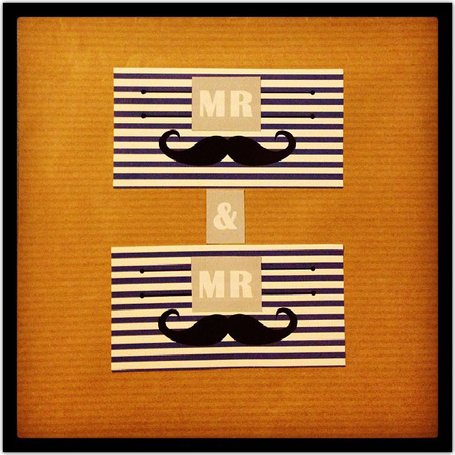 Invitation à moustaches